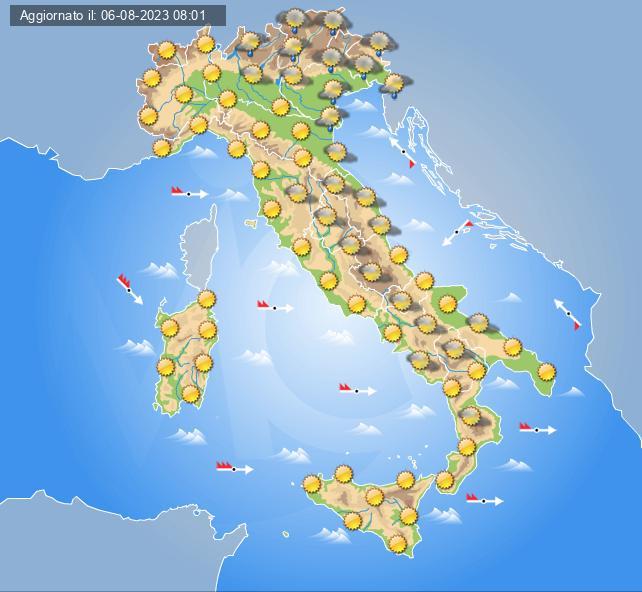 Previsioni meteo italia domani centro meteo italiano - Meteo bagno di romagna 15 giorni ...