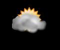 Mattina: nubi diffuse con qualche breve apertura
