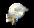 Notte: occasionali fenomeni temporaleschi