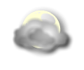 Notte: cielo nuvoloso o molto nuvoloso con possibili riduzioni della visibilita