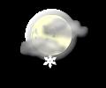 Notte: temporanei o locali addensamenti con brevi nevicate