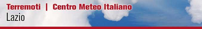 Terremoti Lazio