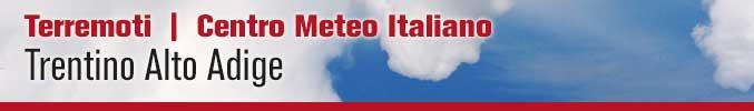 Terremoti Trentino Alto Adige