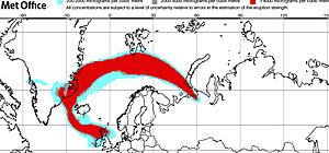 Eruzione vulcano islanda voli a rischio centro meteo for Cenere vulcanica