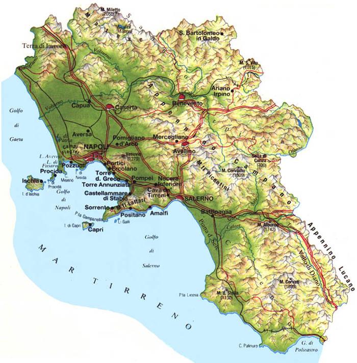 Il Clima Della Campania Centro Meteo Italiano