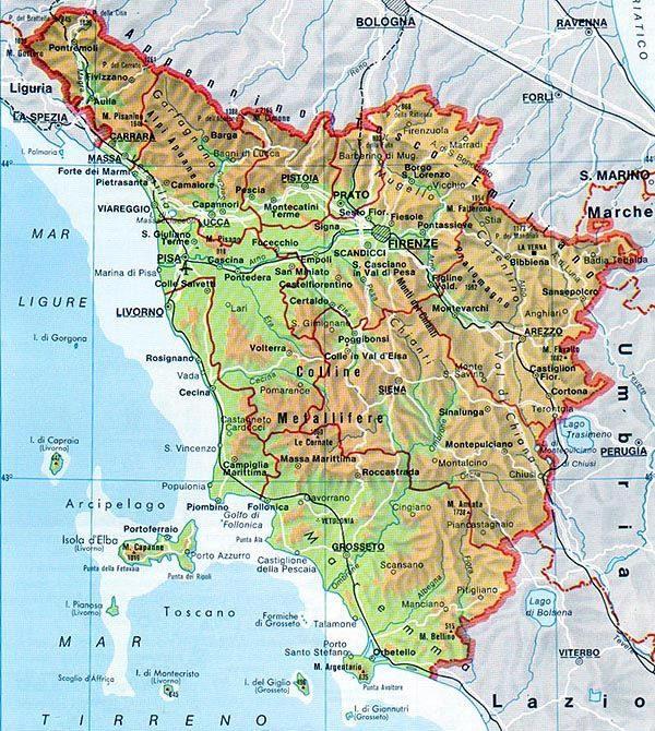 Il Clima Della Toscana Centro Meteo Italiano