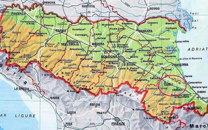 Cartina Emilia Romagna E Marche.Il Clima Dell Emilia Romagna Centro Meteo Italiano