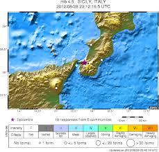 epicentro terremoto messina agosto 2012