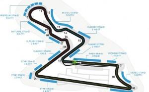 Formula 1 India 2012, pianta circuito