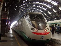 Sciopero treni Napoli, immagine treno