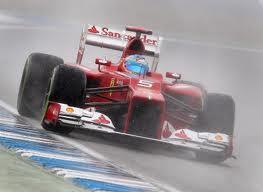 Formula 1 2012 gp Brasile, pista bagnata per la gara