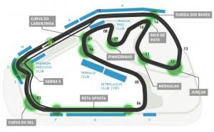 Formula 1 2012 circuito Gp f1 Brasile Interlagos