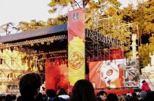 capodanno cinese 2012 palco