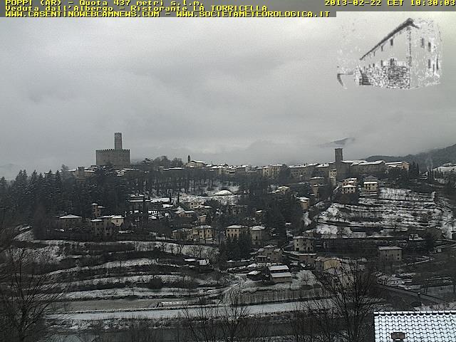 Neve Toscana 22 Febbraio 2013