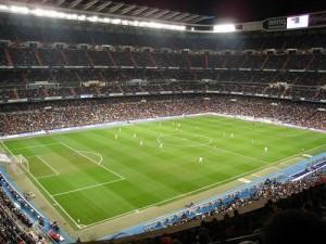 Real Madrid Barcellona 2013, immagine Santiago Bernabeu