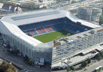 Basilea Chelsea stasera, immagine stadio