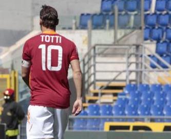Roma Napoli, Totti squalificato