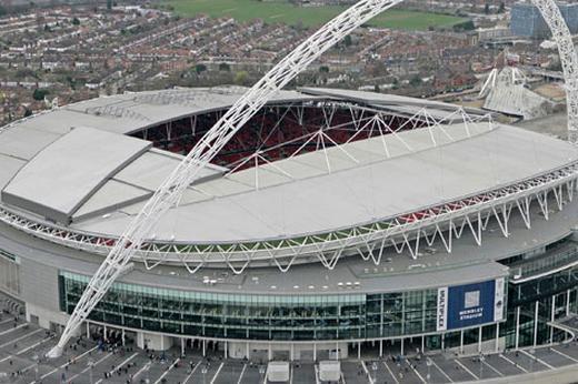 Finale champions league 2013 Borussia Bayern, stadio Wembley