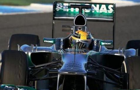 Formula 1 2013, Mercedes al comando nelle prove del gp di Montecarlo