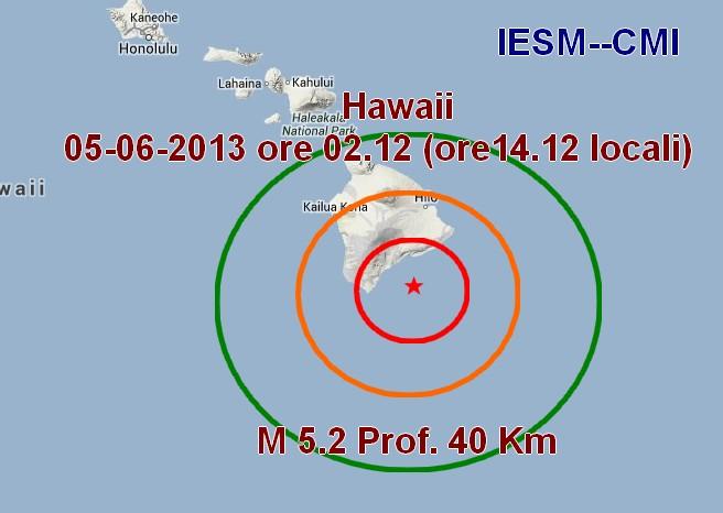 Mappa epicentro sisma
