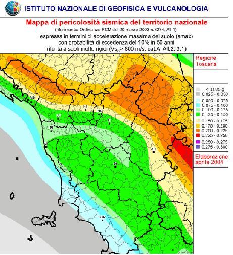 Sequenza di scosse in atto sull abetone centro meteo for Mappa sismica italia