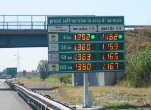 Sciopero benzinai dal 16 al 19 luglio 2013