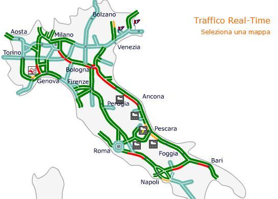 Traffico autostrade bollino rosso oggi sabato 10 agosto for Traffico autostrade in tempo reale