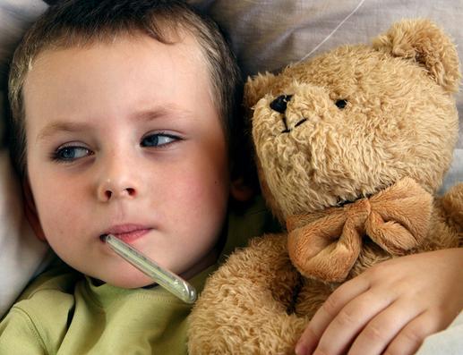 Ecco come curare la febbre nei piu piccoli
