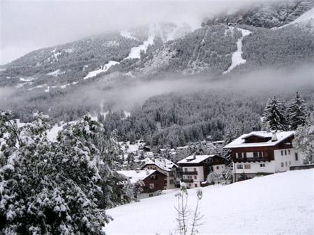Torna la neve a Cortina Ampezzo 24 Dicembre 2013