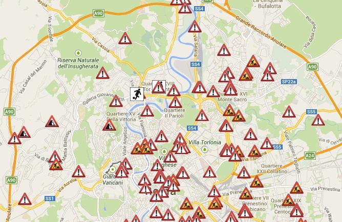 Traffico roma oggi in tempo reale situazione drammatica for Traffico autostrade in tempo reale