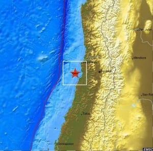 Terremoto in Cile-EMSC