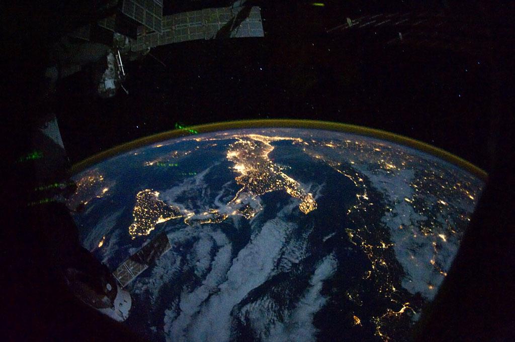 Passaggio Stazione Spaziale Iss in Italia 30 Marzo 2014
