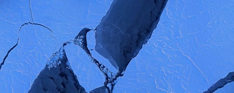 Ghiacci nel bacino canadese; fonte immagine  NASA