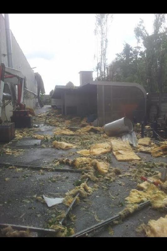 Tornado a Nonantola - Il Resto del Carlino
