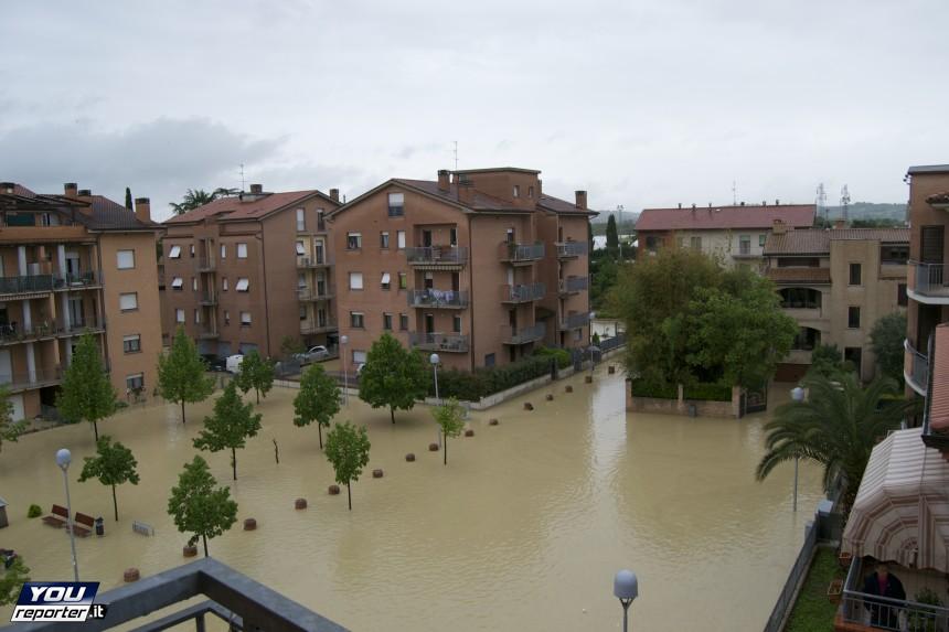 Alluvione Chiaravalle, Marche