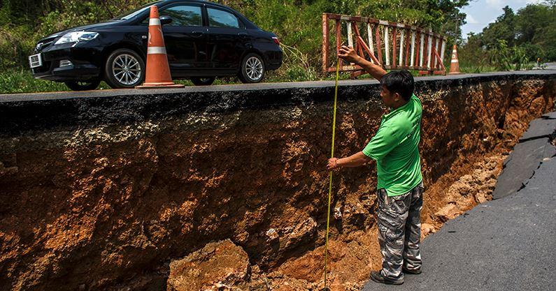 Terremoto in Thailandia