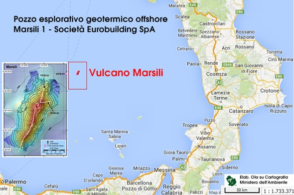 Vulcano Marsili, in parlamento ci si interroga sulla sua natura esplosiva