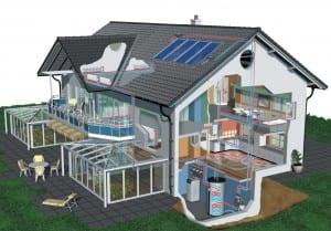 Ecco la casa alimentata interamente da energia solare