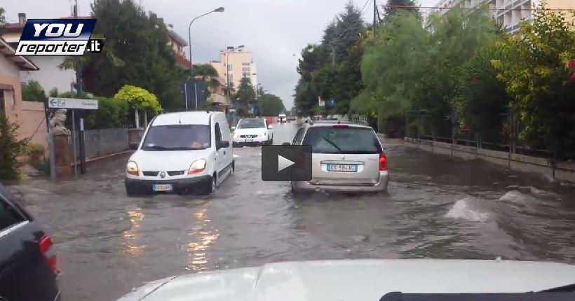 Temporale Abano Terme: città in parte allagata dopo i ...