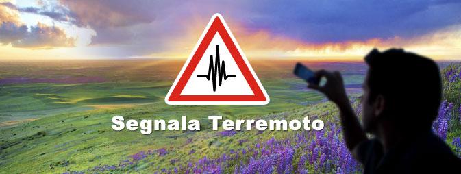 Segnala il Terremoto!