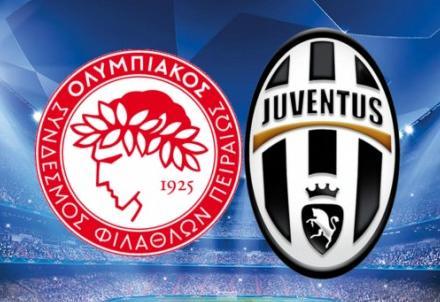 Champions league Juventus Olympiakos, orario tv Martedì 4 Novembre, probabili formazioni e dove vederla in televisione
