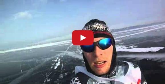 maratona sul lago ghiacciato
