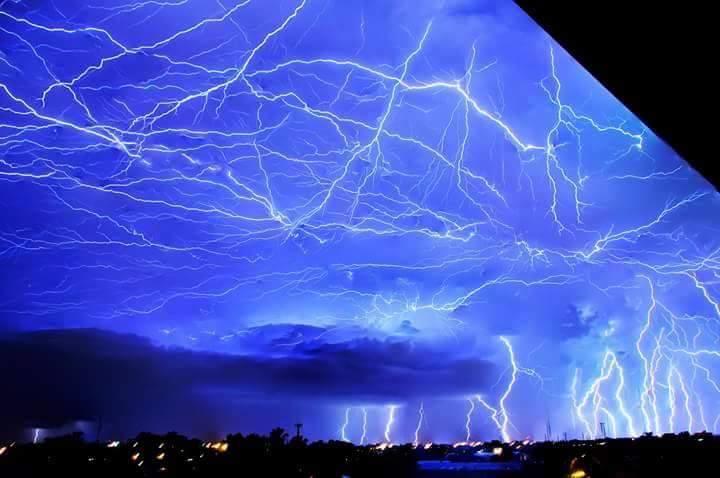 Tempesta elettrica in Argentina