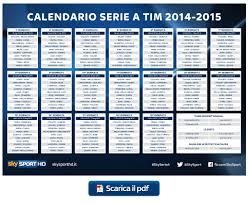 Calendario Partite Seria A.Calendario Serie A Prossimo Turno Calendario 2020