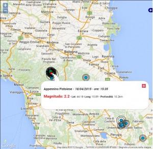 Terremoto oggi 18 aprile 2015 ancora due scosse in for Oggi in romagna