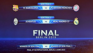 Calendario Barcellona.Calendario Semifinali Champions 2015 In Tv Juve Real E