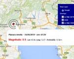 Terremoto oggi Veneto 15 Maggio 2015, scossa M 3.5 Pianura veneta dati Ingv