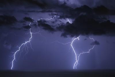 Temporale a Genova: un fulmine ha colpito un uomo