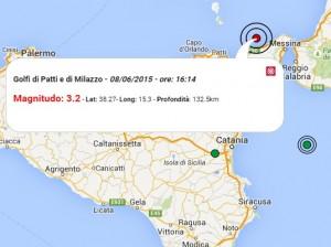terremoto oggi Sicilia 8 giugno 2015