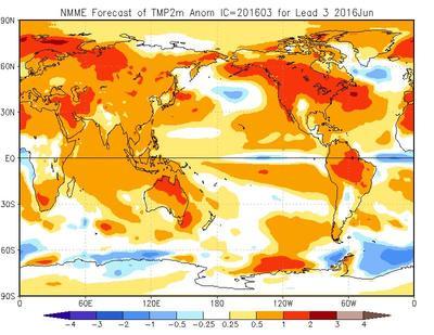 Previsioni Meteo Giugno 2016: tendenza temperature e piogge